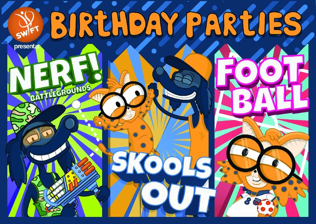birthday parties swift sports coaching